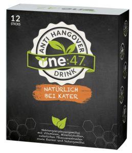 One:47 - Der Anti Hangover Drink vegan Mittel gegen Kater Nr. 1